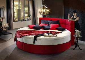 rundes boxspringbett test vergleich top 10 im juli 2018. Black Bedroom Furniture Sets. Home Design Ideas