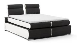 top 10 leder boxspringbetten test vergleich update 11 2017. Black Bedroom Furniture Sets. Home Design Ideas