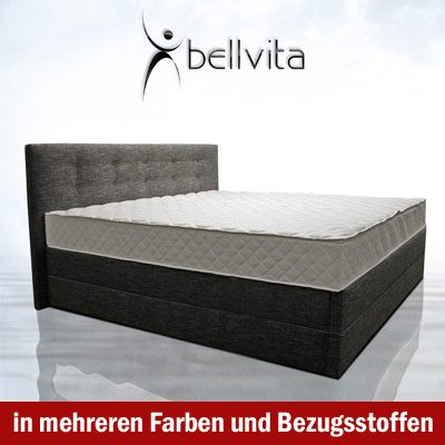 bellvita mesamoll ii boxspringbett test 2018. Black Bedroom Furniture Sets. Home Design Ideas