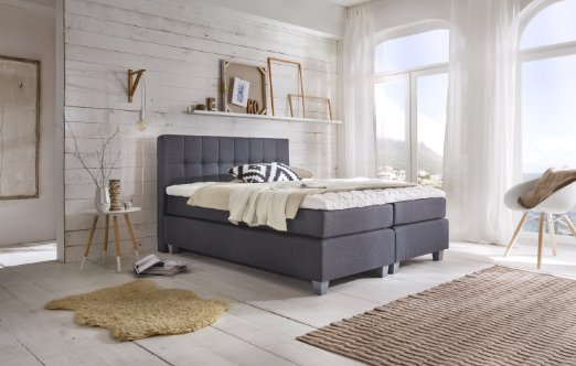 m belfreude venezia boxspringbett test 2019. Black Bedroom Furniture Sets. Home Design Ideas