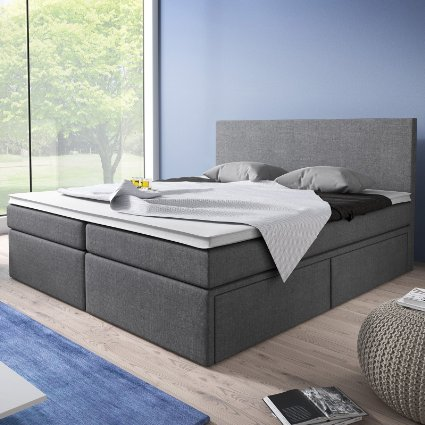 moebella24 elisa boxspringbett test 2018. Black Bedroom Furniture Sets. Home Design Ideas