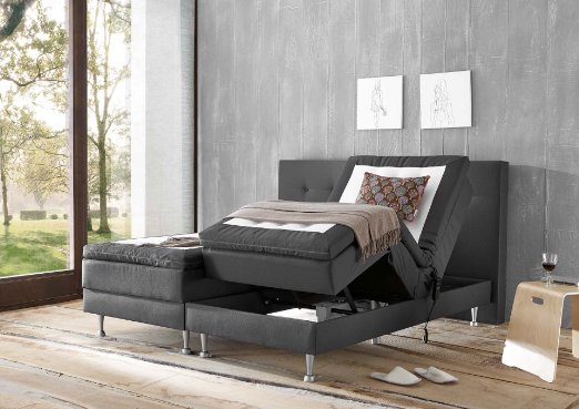 wellness edition 18332 boxspringbett test 2018. Black Bedroom Furniture Sets. Home Design Ideas