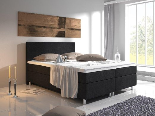 juskys virginia boxspringbett test 2018 2019. Black Bedroom Furniture Sets. Home Design Ideas