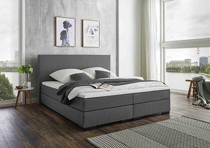 belvando verona boxspringbett test 2019. Black Bedroom Furniture Sets. Home Design Ideas