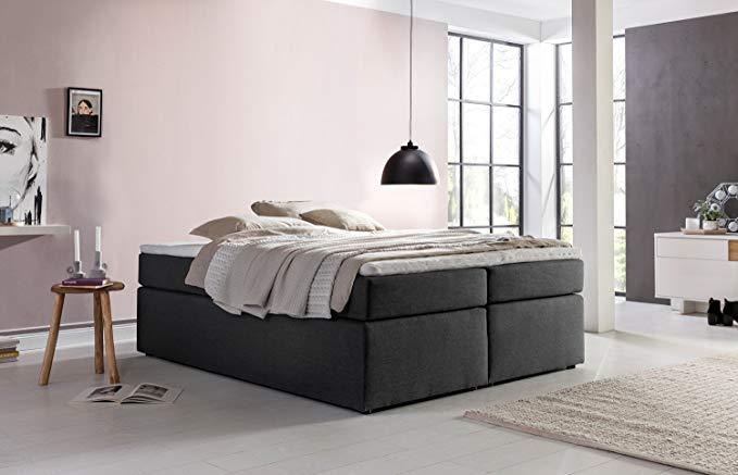 Furniture For Friends Mobelfreude Boxspringbett Bella Anthrazit