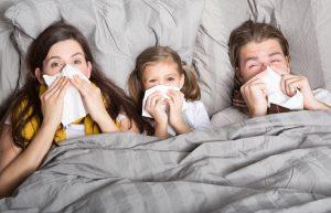 Gesund schlafen bei Erkältung