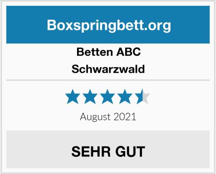 Betten-ABC Schwarzwald Test