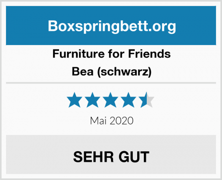 Furniture for Friends Bea (schwarz) Test