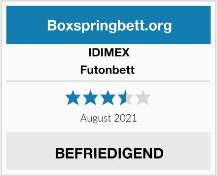 IDIMEX Futonbett  Test