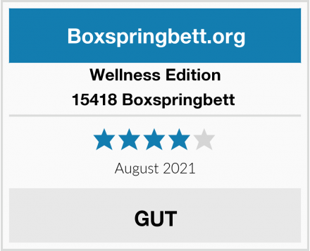 Wellness Edition 15418 Boxspringbett  Test