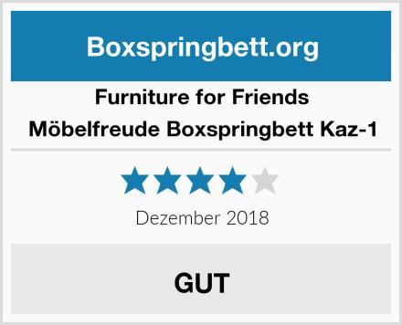 Furniture for Friends Möbelfreude Boxspringbett Kaz-1 Test