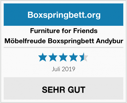 Furniture for Friends Möbelfreude Boxspringbett Andybur Test