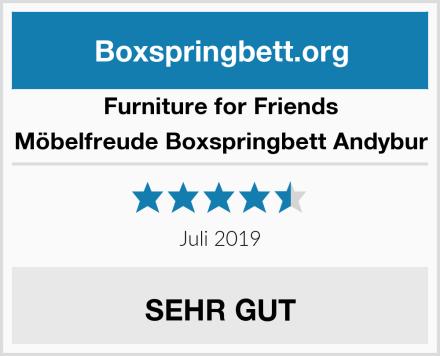 Furniture for Friends Möbelfreude Boxspringbett Andybur Test
