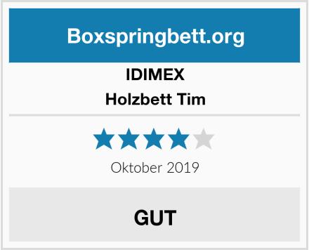 IDIMEX Holzbett Tim Test