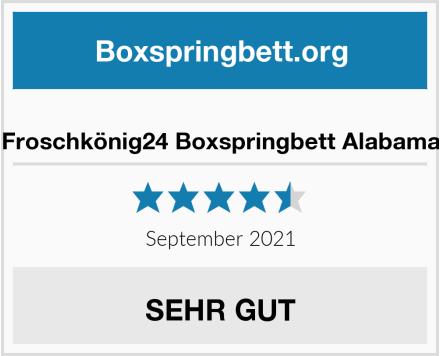 Froschkönig24 Boxspringbett Alabama Test