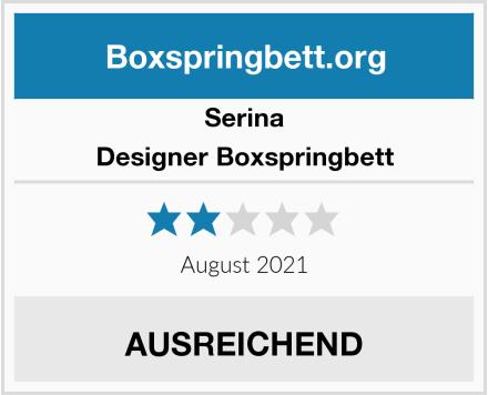 Serina Designer Boxspringbett Test
